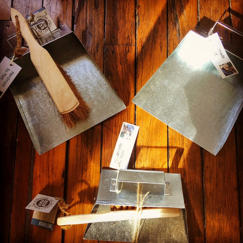 Handmade by Matt Metal Dustpans