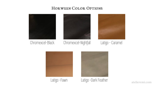 Horween color options