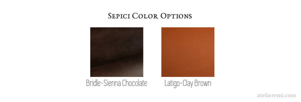 Sepici color options