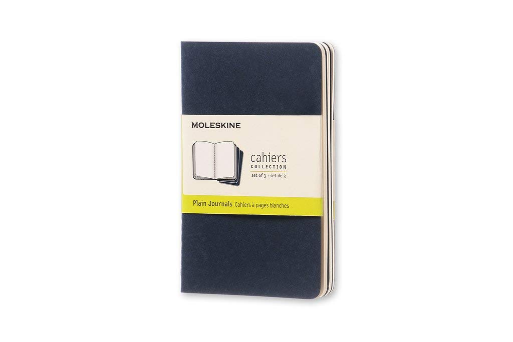 Moleskine Cahier Pocket Journals, 3-Pack  (Fits S02C & S02G)