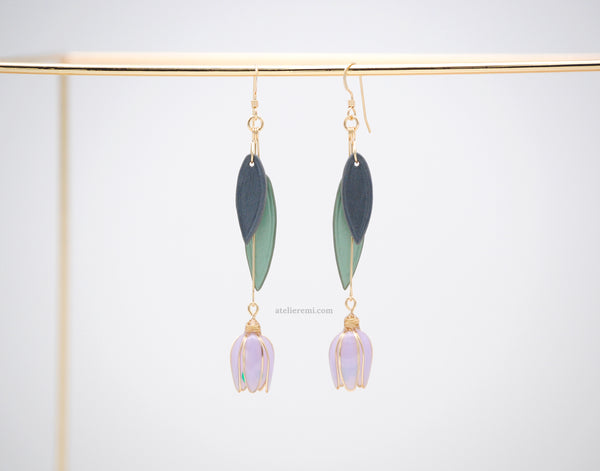 No. J03GF | Snowdrop Earrings (14K Gold-Filled)