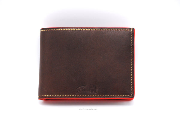 No. W01C | Classic Bifold Wallet (Cowhide Lined Interior)