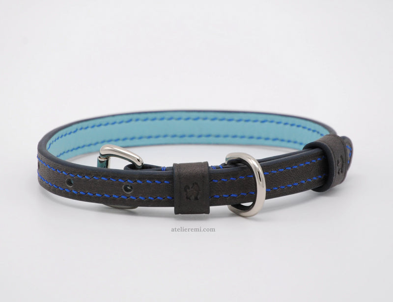No. P06G - 13MM Dog Collar (Goatskin Lined Interior)