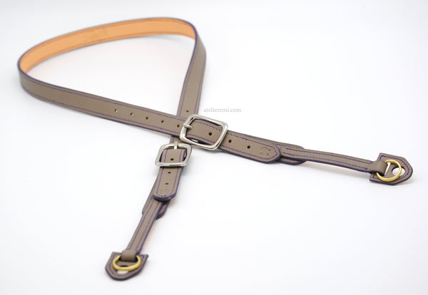 No. E02C | Classic Camera Strap (Cowhide Lined Interior)