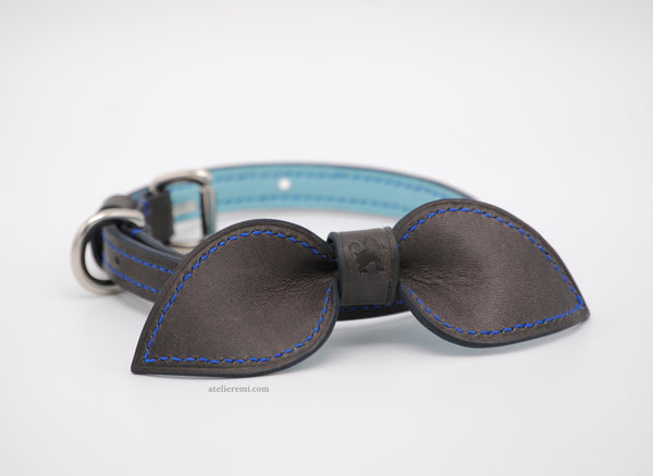 No. P04G - 13MM Dapper Dog Collar (Goatskin Lined Interior)