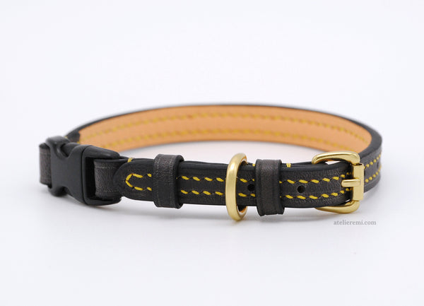 No. P02C | 10MM Cat Collar (Cowhide Lined Interior)