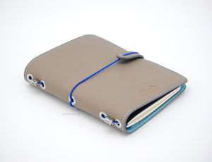 No. S02G | Refillable Moleskine Pocket Journal (Goatskin Lined Interior)