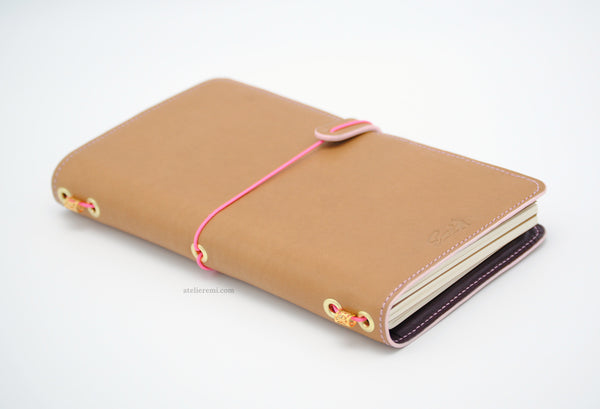 No. S01G | Refillable Traveler's Journal (Goatskin Lined Interior)