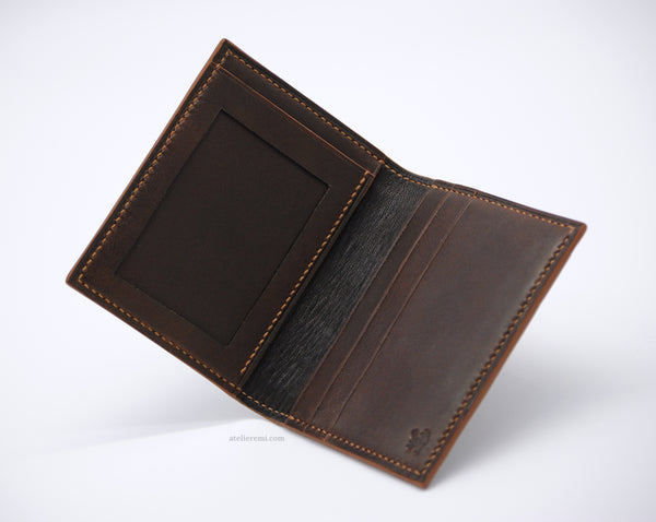 No. W06C | Card Holder V2 (Cowhide Lined Interior)