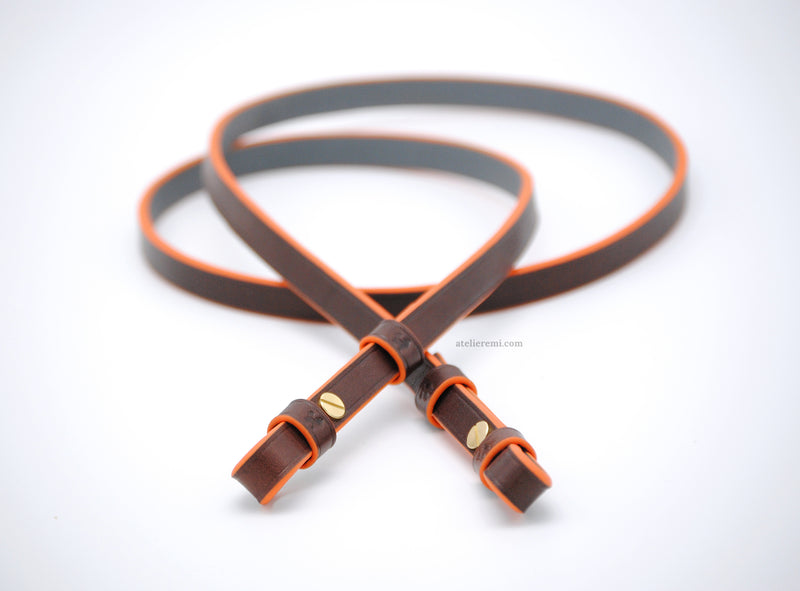 No. E04C | Minimalist Camera Strap (Cowhide Lined Interior)