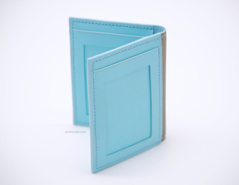 No. W06G | Card Holder V2 (Goatskin Lined Interior)