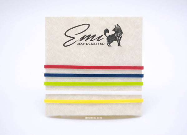 Pocket Journal Elastics, 5-Pack (Fits S02C & S02G)