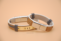 No. B02G | Grace Bracelet Set (Goatskin Lined Interior)