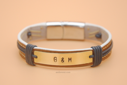 No. B02G-S | Grace Bracelet - Single (Goatskin Lined Interior)