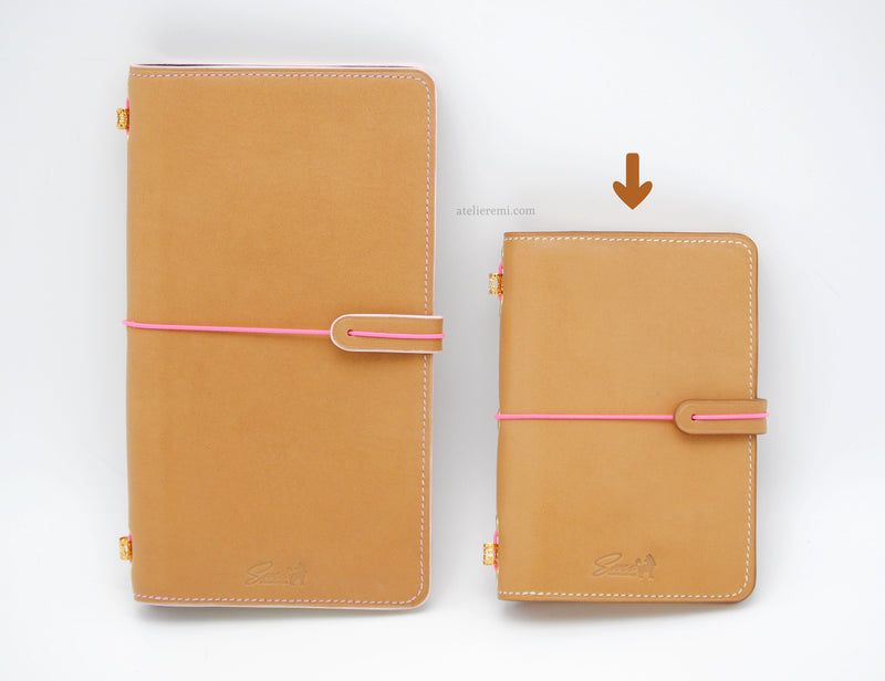 No. S02C | Refillable Moleskine Pocket Journal (Cowhide Lined Interior)