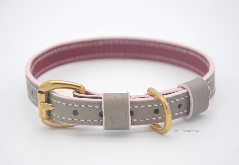 No. P08G | 13MM Dog Collar V3 (Goatskin Lined Interior)