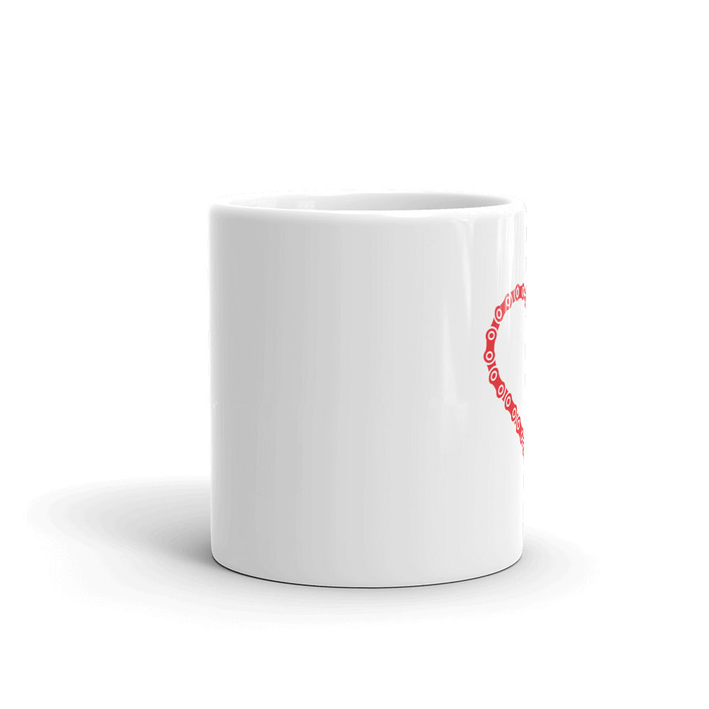 Heart in Chains Mug