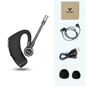 Bluetooth Earphones & Headphones - Lymoc V8s Bluetooth Headset Business Car Wireless Headphones Stereo With Mic Sport Running Bluetooth Earphone Handfree HD Music