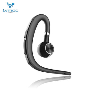 Headphone/Headset - Lymoc Upgrade Y3+ Bluetooth Earphone Handsfree Ear Hook Wireless Headsets V4.1 Noise Cancelling HD Mic Music For IPhone Huawei
