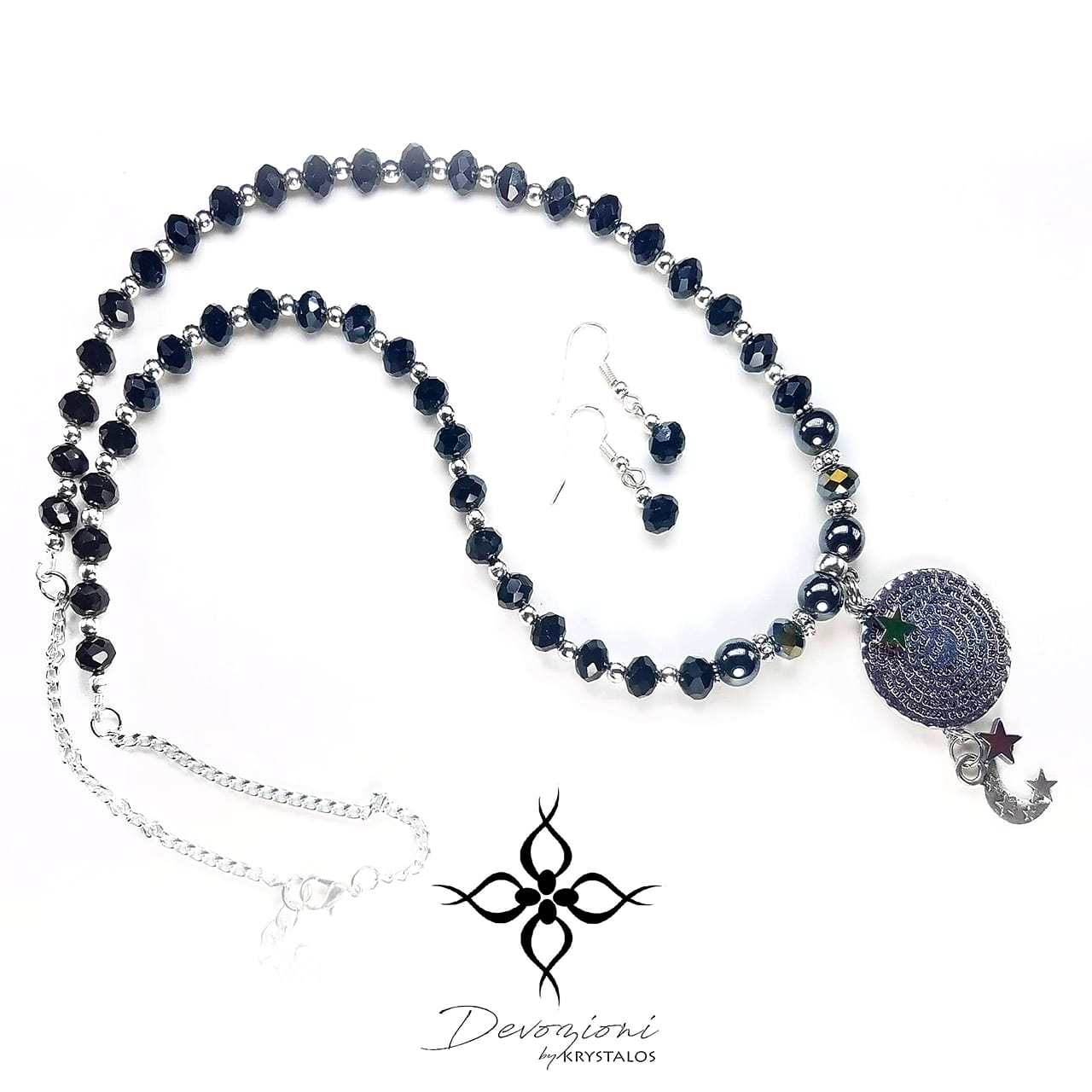 Our Father Nighttime Prayer (Black) - DEVOZIONI Set