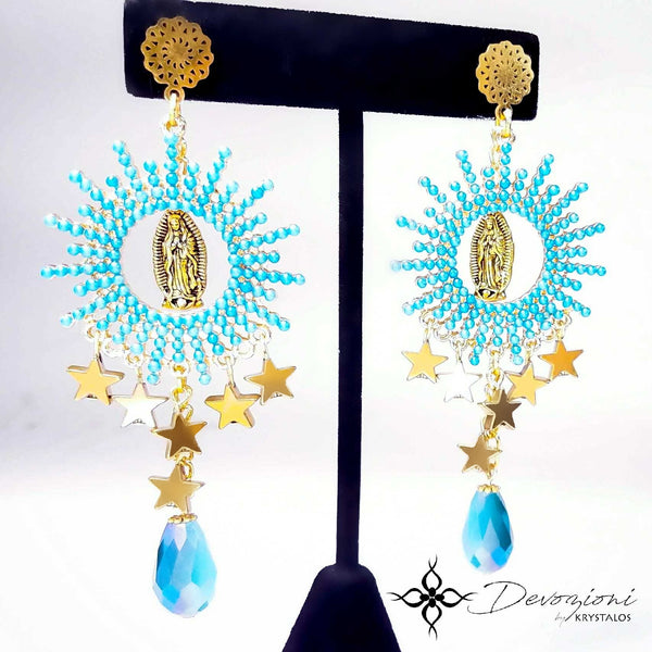 Mary our Queen - DEVOZIONI Earrings