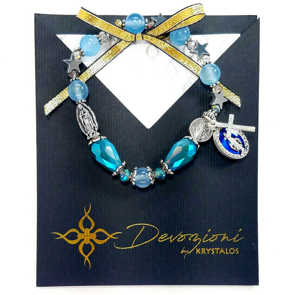 Mary Our Queen - DEVOZIONI Rosary Bracelet