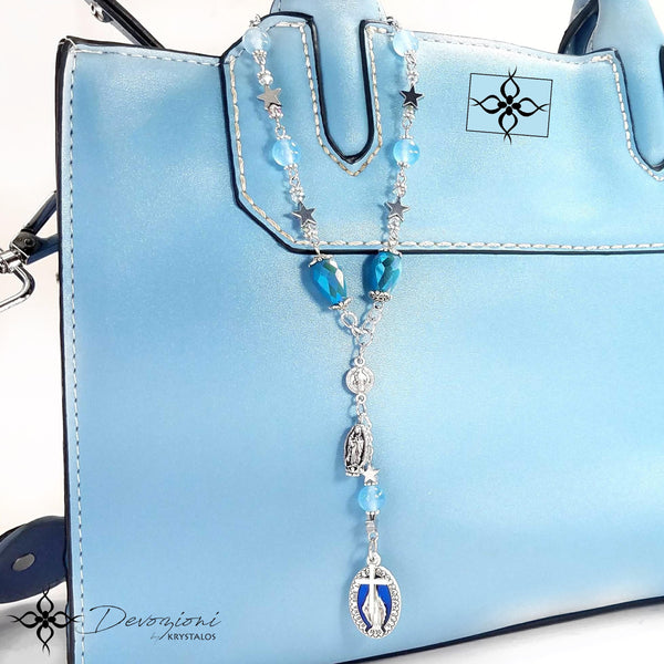 Mary our Queen - Historical Decennary for Cars, Handbags, etc.