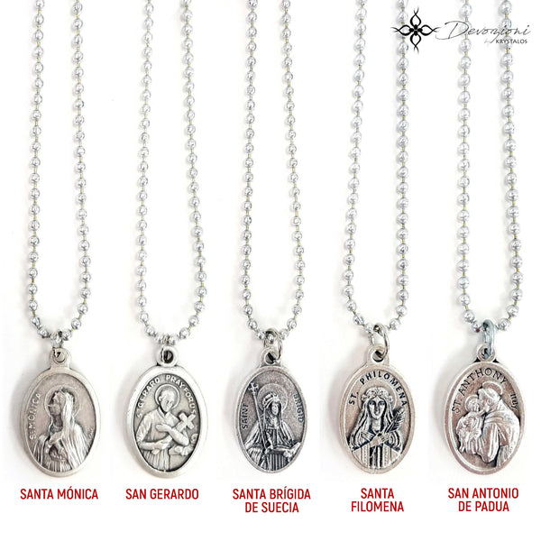 Simple Saint Medal Necklace - DEVOZIONI