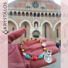 Saint Anthony of Padua - DEVOZIONI Rosary Bracelet