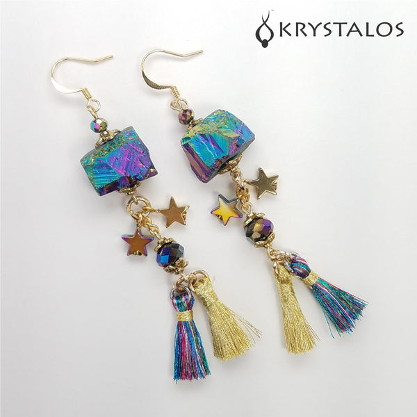 Bright Rock Earrings