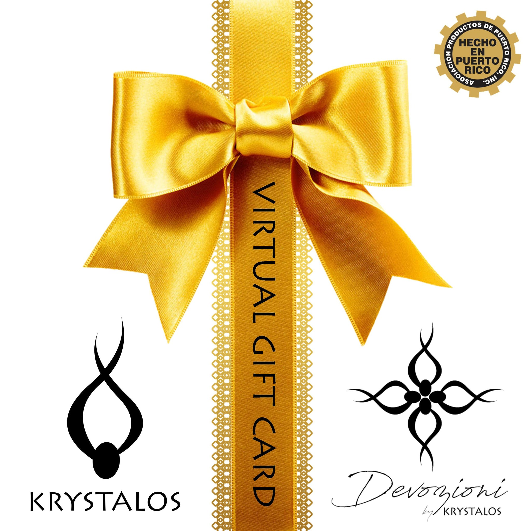 Krystalos Virtual Gift Card