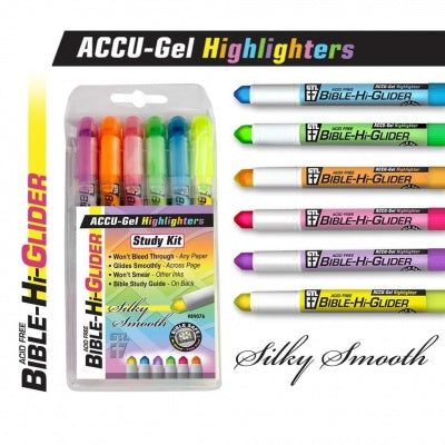 Bible Study Gel Highlighter Set
