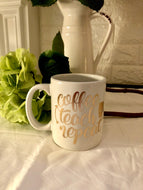 Coffee~Teach~Repeat Mug
