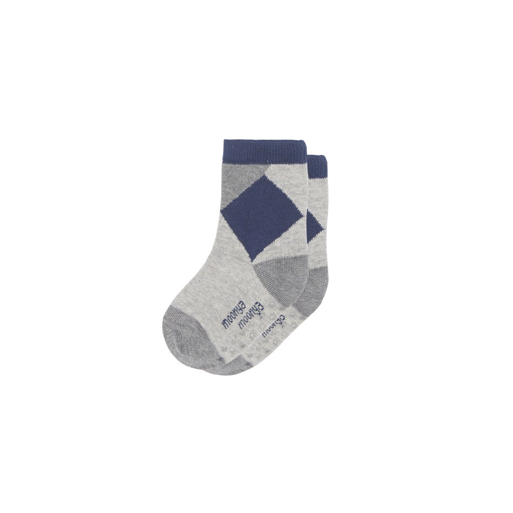 Dark Gray Mini Crew Socks
