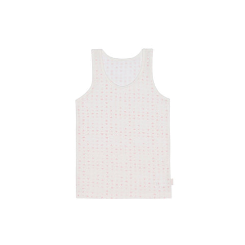 Toddler Heart Pattern Tank Top