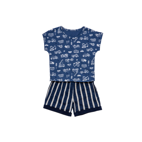 Toddler Truck Short Playwear