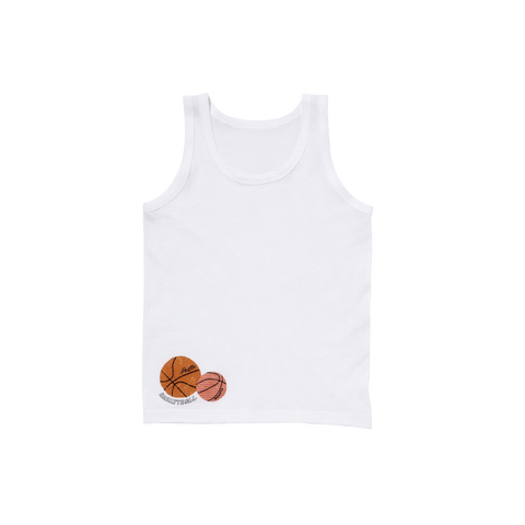 Milk Basketball Tank Top