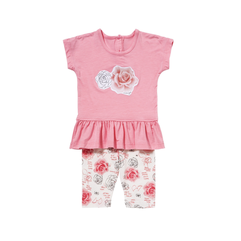 Toddler Rose Sleeveless Playwear