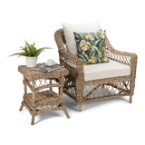 Napa Armchair Kubu Grey Interior Fabric