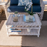 Napa Coffee Table Distressed White