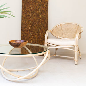 Bel Air Round  Coffee Table Natural