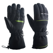 Mens Cycling Gloves Running Gloves Waterproof Windproof Anti-slip Touch Screen Gloves Thermal Winter Gloves for Skiing Camping