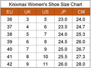 Knixmax Women's Running Trainers, Grey, Lightweight Gym Fitness Air Sports Shoes