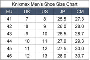 Knixmax Men's Trainers, Black, Lightweight, Running Gym Fitness Sports Walking Shoes