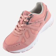 TIESTRA Walking Shoes for Women Running Shoes Pink Outdoor Gym Fitness Trainer