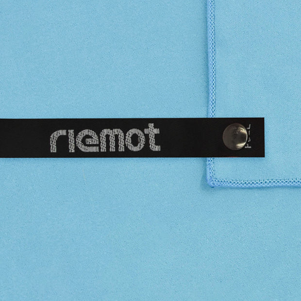 riemot Microfibre Blue Towel Lightweight Quick Drying Absorbent For Travel Camping Backpacking Sports Fitness
