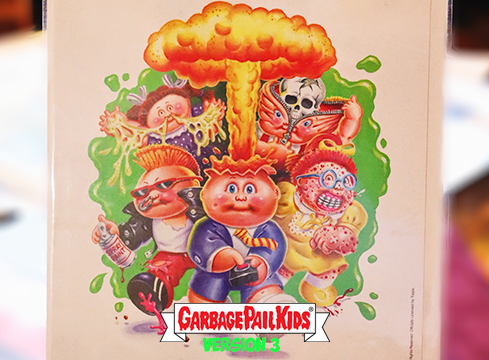 Garbage Pail Kids Exclusive Prints by Joe Simko, Version III