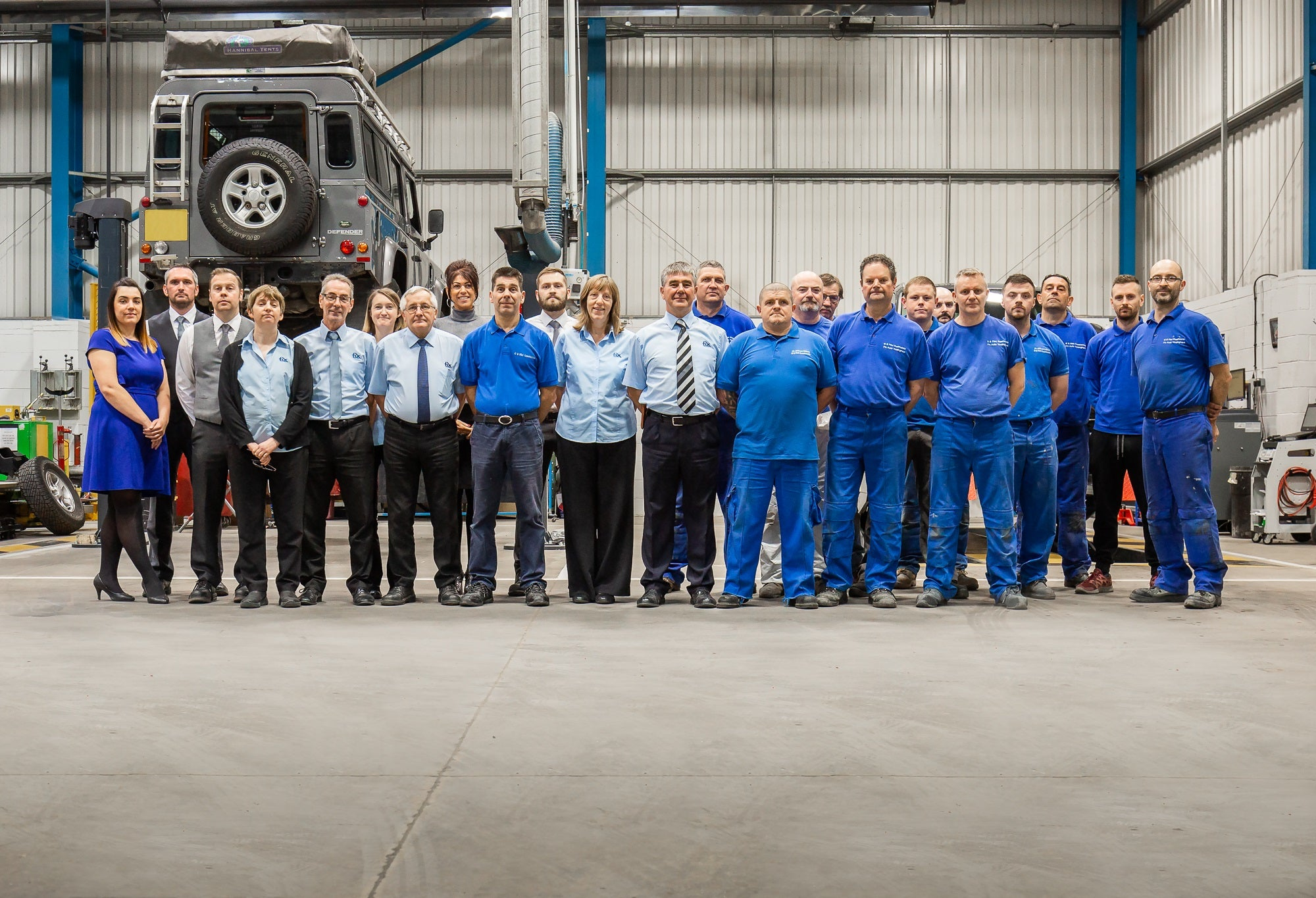 The Full Team at GB Flint Coachworks