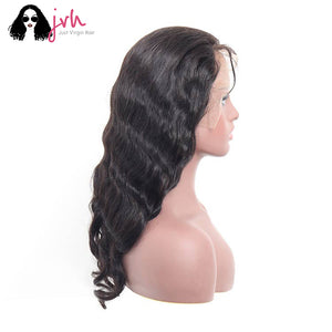 Jvh Best Real Human Hair Wigs With Bangs For Black Women Body Wave
