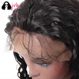 Real Human Hair Wigs For Sale Online Loose Wave 13*4 150% Density -- JVH